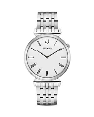 Regatta Slim White Dial Watch