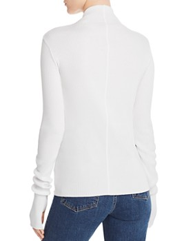 Helmut Lang - Ribbed Mock-Neck Sweater