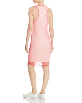 Helmut Lang - Layered Organza Tank Dress