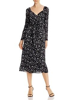The East Order - Lucette Floral-Print Wrap Dress