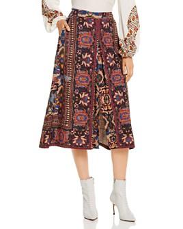 Kobi Halperin - Annie Printed Midi Skirt