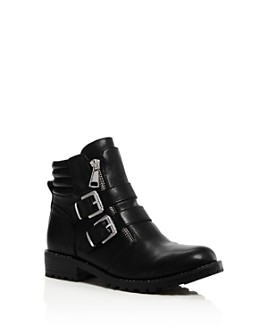 STEVE MADDEN - Girls' JJaipor Combat Boots - Little Kid, Big Kid