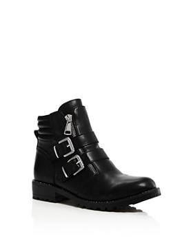STEVE MADDEN - Girls' JJaipor Combat Boots - Little Kid, Big Kid