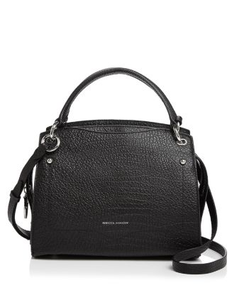 Val Leather Satchel by Rebecca Minkoff