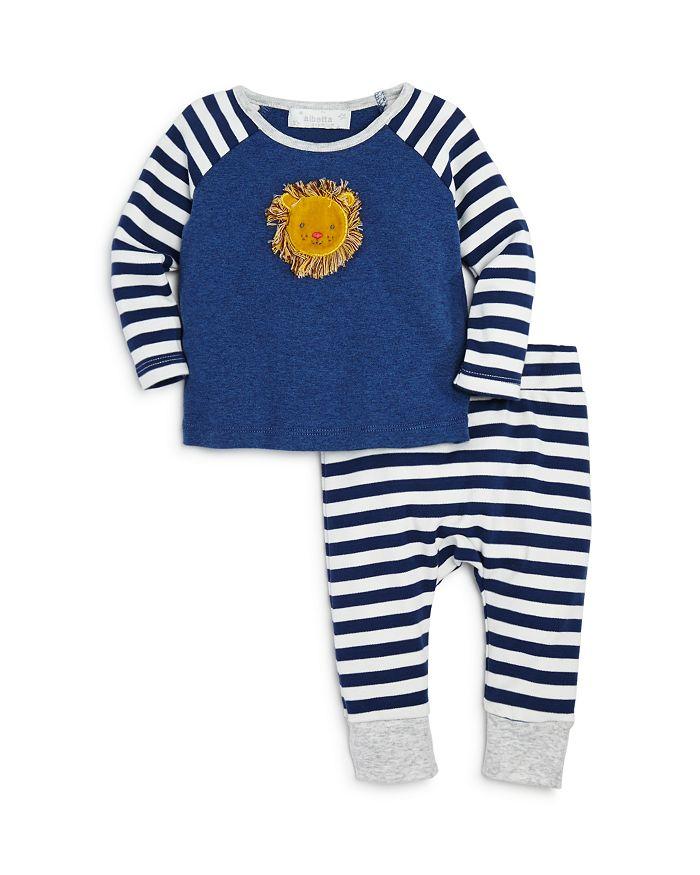 Albetta - Boys' Lion Top & Pants Set - Baby