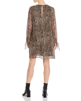 Marella - Ulster Leopard-Pattern Shift Dress