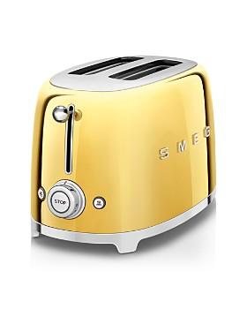 Smeg - Gold-Edition 2-Slice Toaster