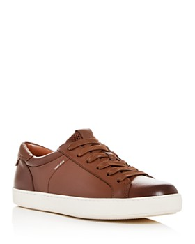 COACH - Men's Leather Low-Top Sneakers