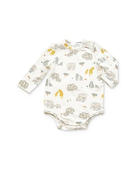 Angel Dear - Unisex Safari Print Bodysuit - Baby