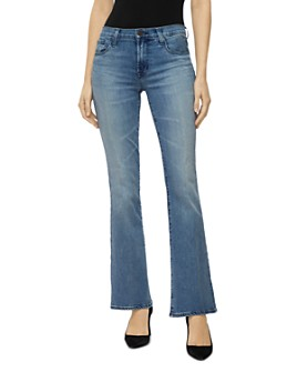 J Brand - Sallie Mid Rise Bootcut Jeans in Fix Up