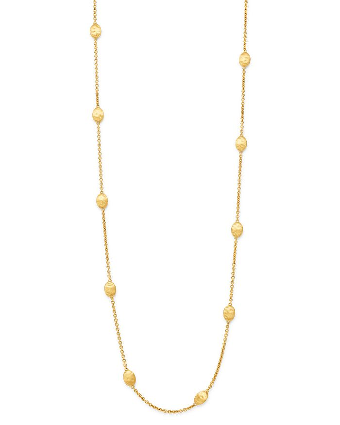 "Marco Bicego - 18K Yellow Gold Siviglia Long Station Necklace, 36"" - 100% Exclusive"