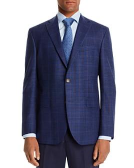 Jack Victor - Jack Victor Plaid Regular Fit Sport Coat