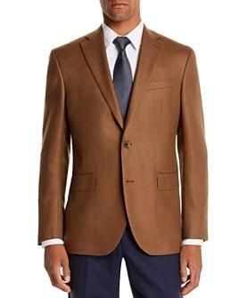 Jack Victor - Jack Victor Twill Solid Regular Fit Sport Coat