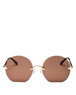McQ Alexander McQueen - Women's Round Sunglasses, 58mm