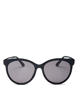 Bottega Veneta - Women's Round Sunglasses, 55mm