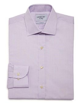 Ledbury - Reed Check Slim Fit Dress Shirt