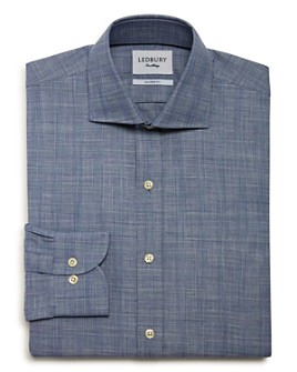 Ledbury - Brenton Check Slim Fit Dress Shirt