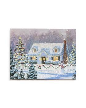 Design Design - Idyllic Christmas House Greeting Card, Box of 20