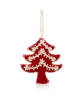 Melange - Embroidered Tree Ornament