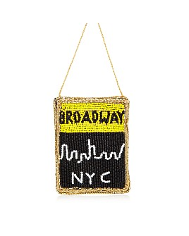 Sudha Pennathur - Broadway Playbill NYC Beaded Ornament