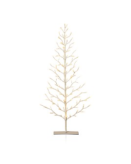 Gerson Company - 5'H Electric White 2D Tree