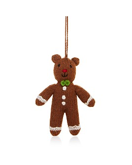 Melange - Gingerbread Bear Ornament