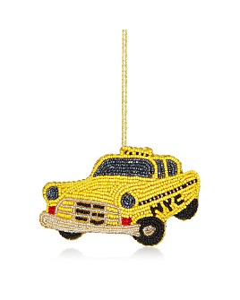 Sudha Pennathur - NYC Taxi Cab Beaded Ornament