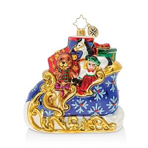 Christopher Radko Divine Christmas Sleigh Ornament