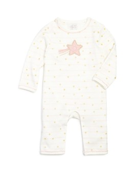 Albetta - Girls' Striped Star Coverall - Baby