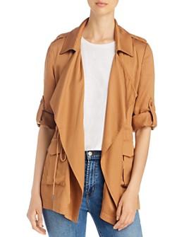 Bagatelle - Roll-Sleeve Utility Jacket