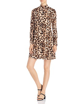 Cupio - Leopard-Print Shift Dress