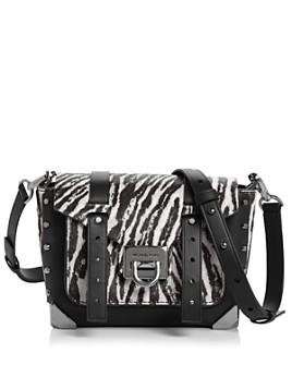 MICHAEL Michael Kors - Manhattan Small Zebra-Print Crossbody - 100% Exclusive