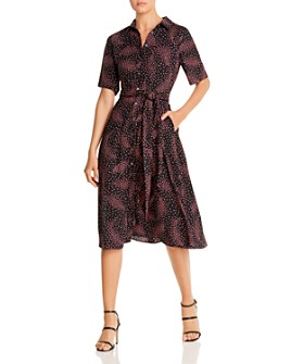 kate spade new york - Meadow Floral-Print Shirtdress