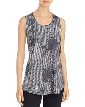 BOSS - Inolea Printed Sleeveless Top