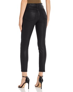 FRAME - Le High Skinny Coated Jeans