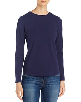 Eileen Fisher - Long Sleeve Knit Top