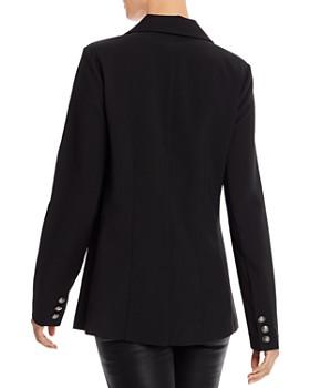 AQUA - Knit Boyfriend Blazer - 100% Exclusive