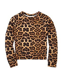 Terez - Girls' Leopard Print Top - Big Kid