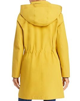 minimum trenchcoat yellow