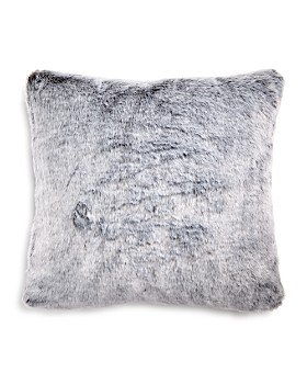 "Hudson Park Collection - Frosted Faux Fur Decorative Pillow, 20"" x 20"" - 100% Exclusive"