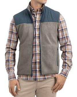 Johnnie-O - Morrison Mixed-Media Color-Block Vest