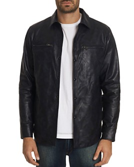 Robert Graham - Gable Camouflage Leather Jacket