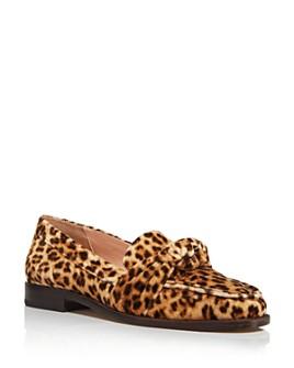 Loeffler Randall - Women's Elina Velvet Slip-On Loafers