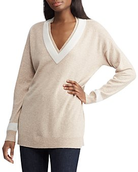 Ralph Lauren - Washable Cashmere Cricket Sweater - 100% Exclusive
