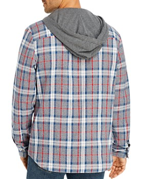 Flag & Anthem - Paxton Plaid Hooded Regular Fit Shirt