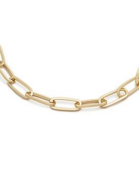 "AQUA - Chain Link Necklace, 17"" - 100% Exclusive"