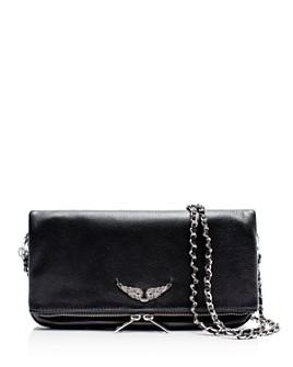 Zadig & Voltaire - Rock Leather Shoulder Bag