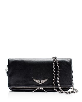 Zadig & Voltaire - Rock Leather Shoulder Bag