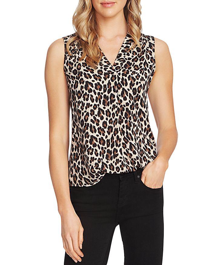 VINCE CAMUTO - Leopard Print Top