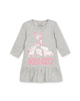 Kenzo - Girls' Animal Logo Dress - Baby